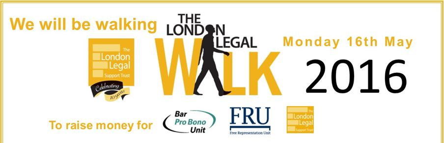 Walk With Us For London Legal 2016
