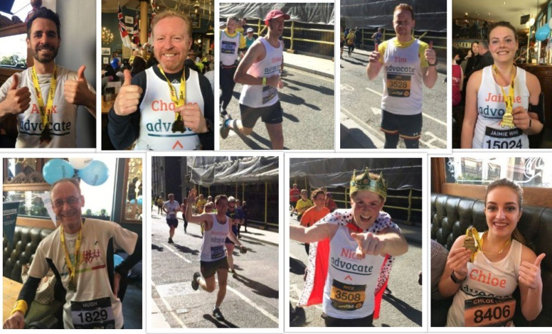 Advocate LLHM 2019 runners